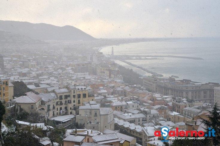 Protezione Civile: dalla mezzanotte neve dai 300 metri - aSalerno.it