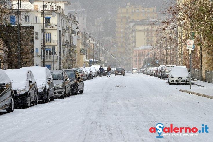 Neve e gelo a Salerno, nuove disposizioni da Palazzo di Città - aSalerno.it