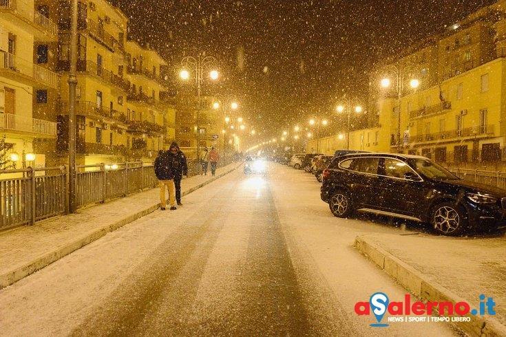 Strada ghiacciata, chiusa la tangenziale di Salerno - aSalerno.it