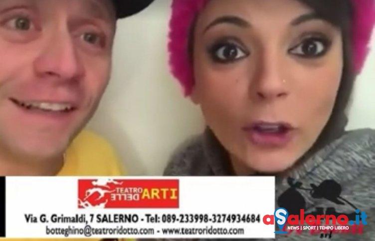Gli Arteteca a Salerno, il messaggio di Monica ed Enzo – VIDEO - aSalerno.it