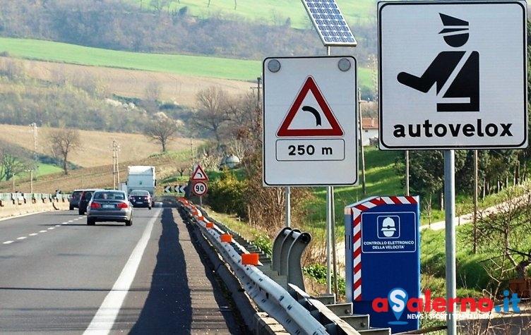 Rivoluzione sulle strade provinciali, saranno installati gli autovelox fissi - aSalerno.it