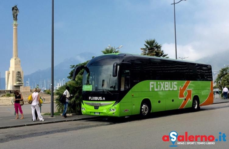 Un anno di Flixbus nel Salernitano: prenotazioni più che raddoppiate negli ultimi 6 mesi - aSalerno.it