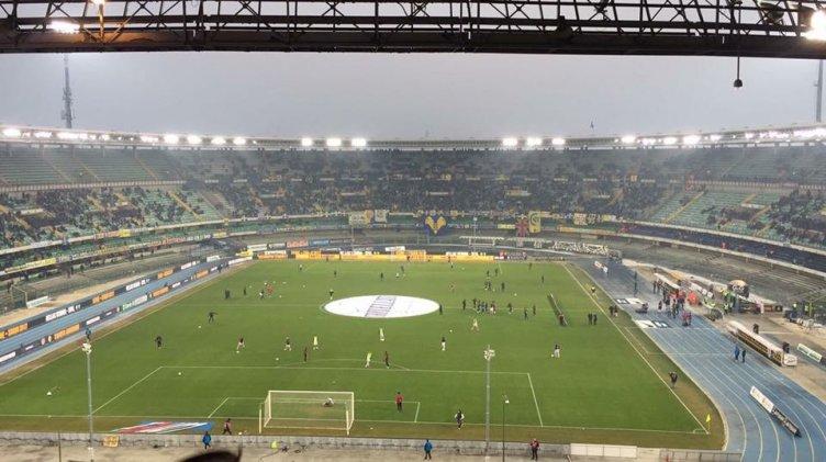 Tuia sbaglia Pazzini no, Verona – Salernitana 1-0 a fine primo tempo - aSalerno.it