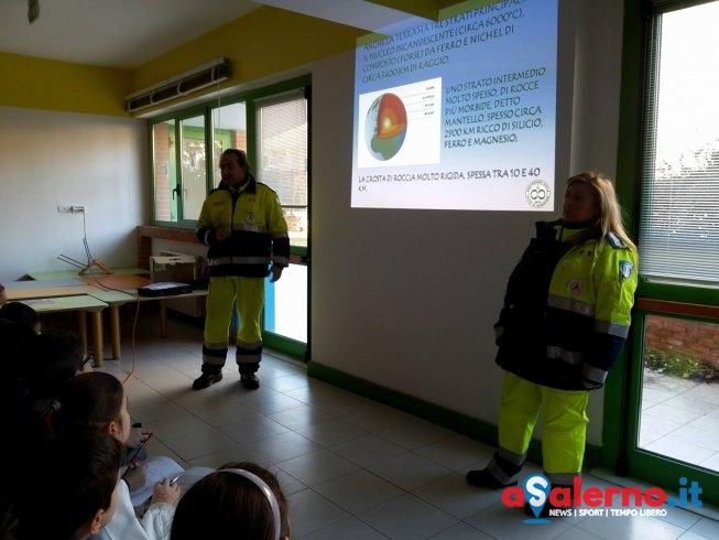 Sicurezza nelle scuole, la Protezione Civile in cattedra per gli studenti salernitani - aSalerno.it