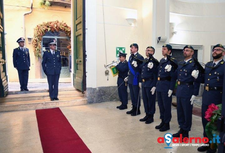 Guardia di Finanza, il Comandante Regionale in visita al Comando Provinciale di Salerno - aSalerno.it