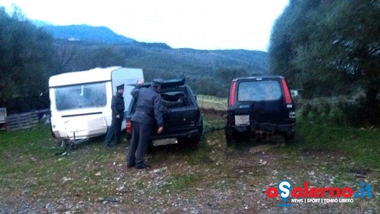 Veicoli abbandonati nel Parco del Cilento, in azione la Guardia di Finanza – FOTO - aSalerno.it