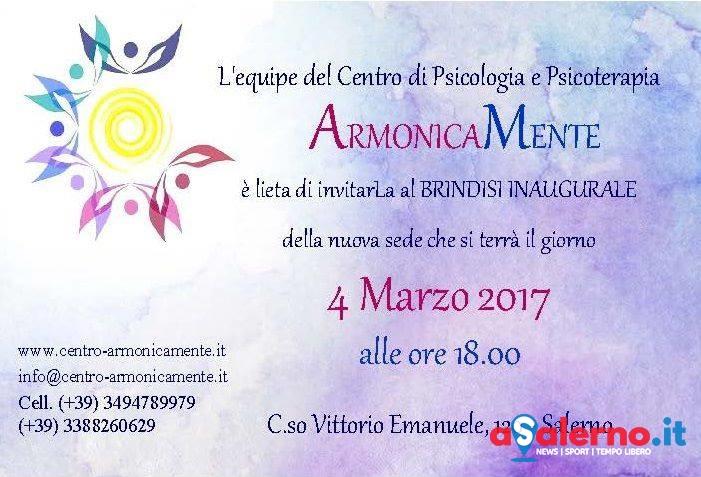 Armonicamente, il nuovo centro a Salerno di psicologia e psicoterapia - aSalerno.it