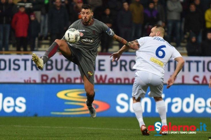 Bernardini out, si rivede in difesa il tandem Schiavi-Tuia - aSalerno.it