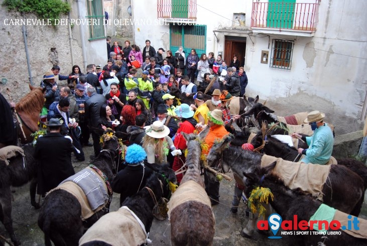 Il Carnevale dei Poveri di Olevano sul Tusciano, un rito da scoprire - aSalerno.it