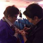 Cdg - Helga Liberto firma un autografo a Casa Sanreom