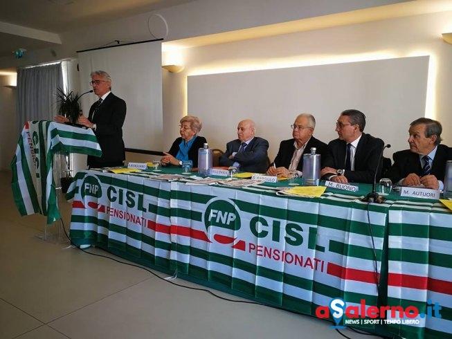 Giovanni Dell'Isola confermato alla guida dei pensionati salernitani della Cisl - aSalerno.it