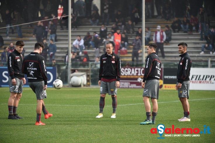 La Salernitana si rifà il look: col Novara tutti in grigio - aSalerno.it