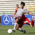 Sal : salernitana - ravenna campionato serie C 2006-07 Nella foto grassadonia in contrasto Foto Tanopress