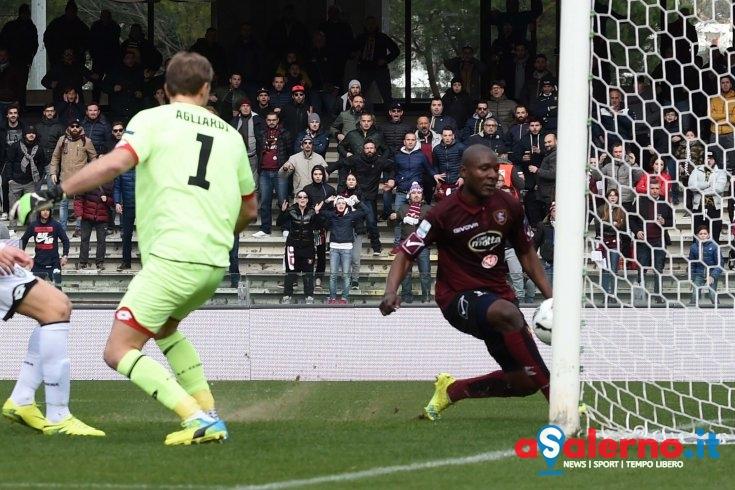 Il gol di Minala non basta:1-1 col Cesena a fine primo tempo - aSalerno.it