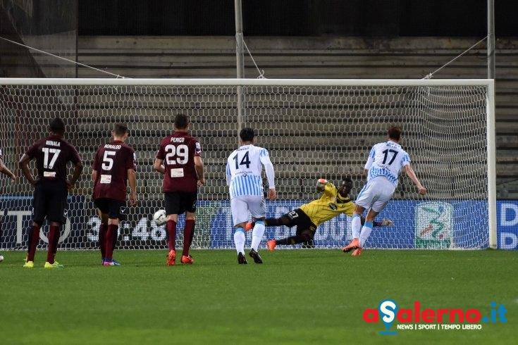 Salernitana-Spal 0-1 all'intervallo, decide Zigoni dal dischetto - aSalerno.it