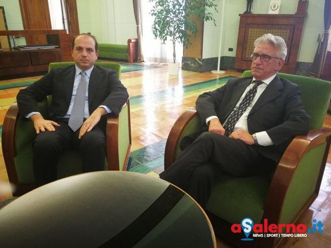 """Vertice a Palazzo di Città con il neo presidente dell'Asi: """"Salerno è esempio da seguire"""" - aSalerno.it"""