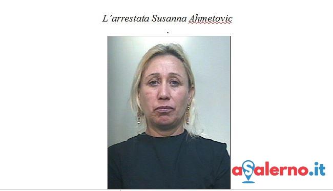 Ruba il portafogli nell'auto di un 19enne, arrestata Susanna Ahmetovic - aSalerno.it