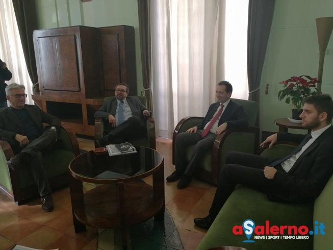 Nino Criscuolo rappresenterà il Comune di Salerno nella nuova Autorità Portuale – FOTO - aSalerno.it