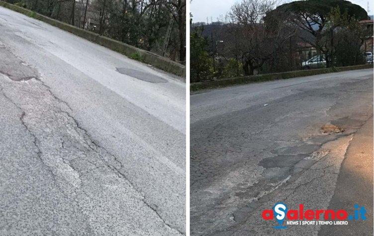 """""""Manto stradale pericoloso e discariche a cielo aperto.. Pellezzano vive nel degrado"""" – FOTO - aSalerno.it"""