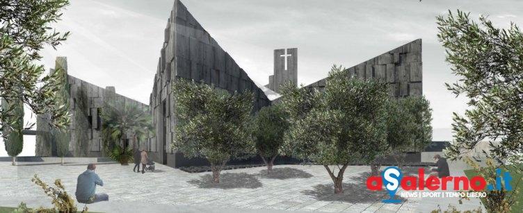 La nuova chiesa di S.Felice in Felline catturerà lo smog come un bosco - aSalerno.it