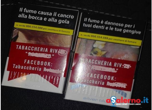 Vendeva le sigarette con gli adesivi sui pacchetti: sequestro della Finanza – FOTO - aSalerno.it