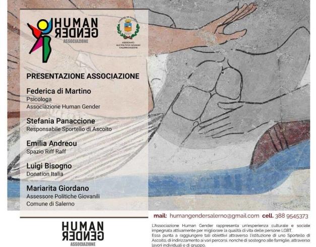 Nasce Human Gender a Salerno: sportello di ascolto per vittime di discriminazioni sessuali - aSalerno.it