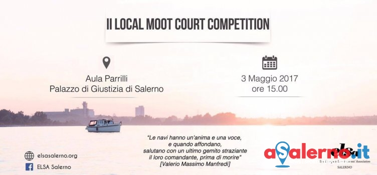 """Tutto pronto per la seconda edizione del """"Local Moot Court Competition"""" - aSalerno.it"""