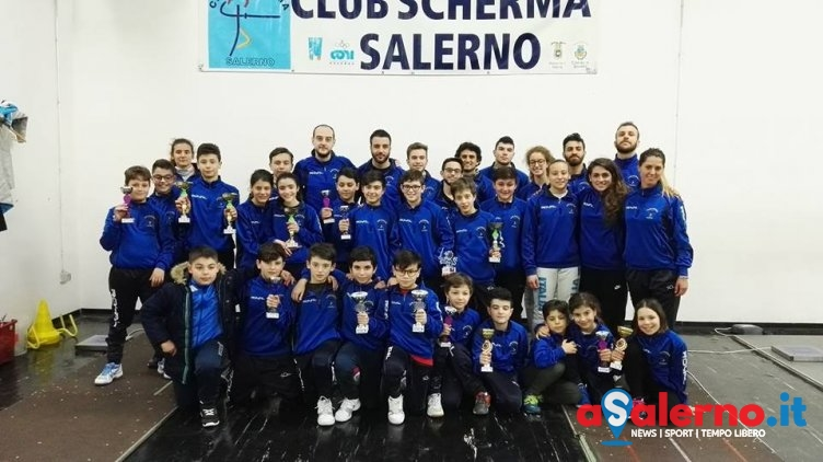 Il Club Scherma Salerno vince 4 titoli regionali under 14 - aSalerno.it