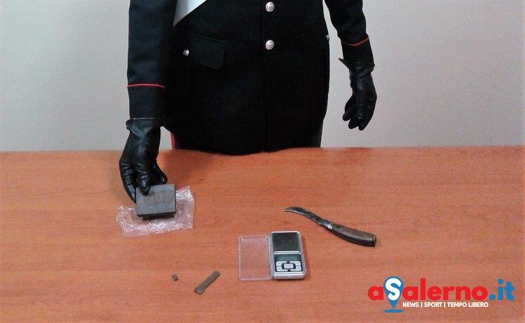 Trovato con un panetto di hashish e un bilancino di precisione, arrestato 35enne incensurato - aSalerno.it