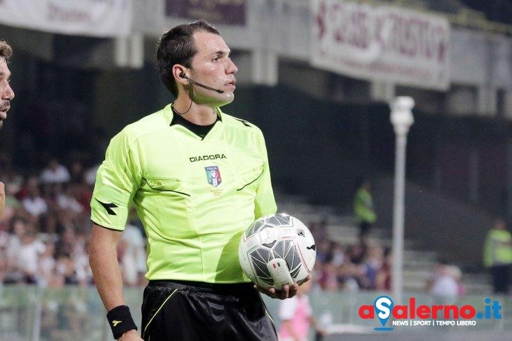 Lorenzo Illuzzi sarà l'arbitro di Salernitana – Alessandria - aSalerno.it