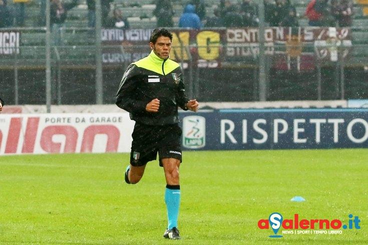Luigi Nasca è l'arbitro di domenica, ha già diretto un derby contro l'Avellino - aSalerno.it