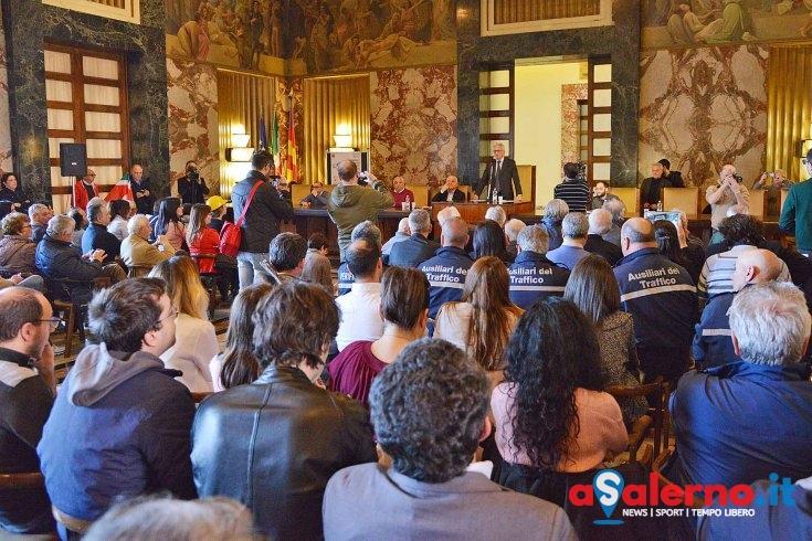 Lavoro e società partecipate, Vincenzo Colla in convegno a Palazzo di Città - aSalerno.it