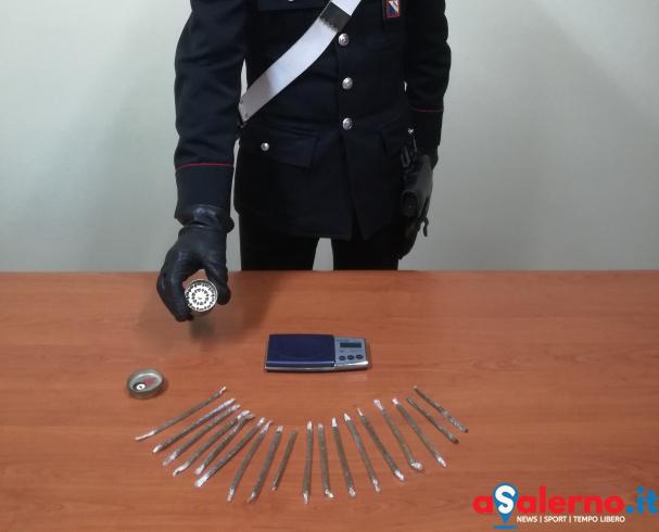 In pullman da Salerno con 50 grammi di hashish, arrestato 25enne - aSalerno.it