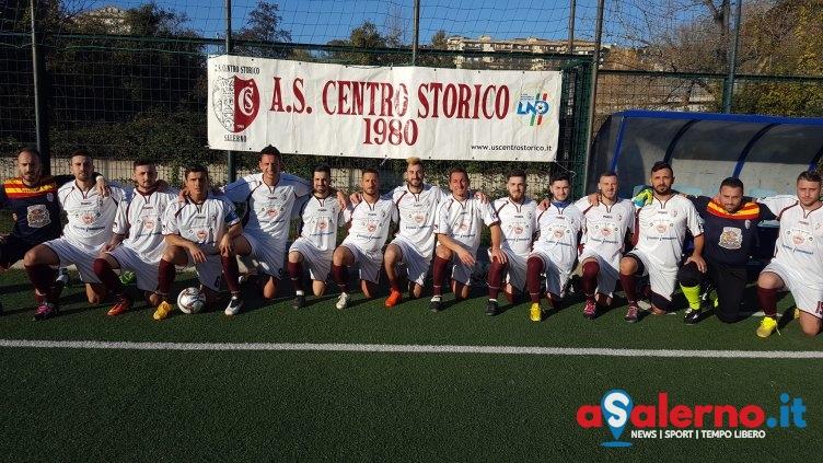 Centro Storico in rimona sull'Atletico Faiano, doppietta di Collina a Santa Tecla - aSalerno.it