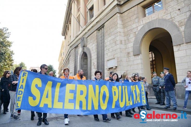 Stabilizzazione dei lavoratori di Salerno Pulita: presentata denuncia in Procura - aSalerno.it