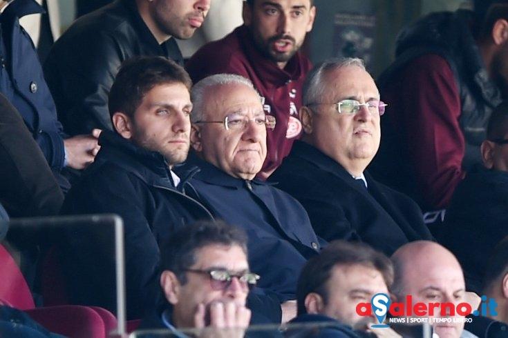 """Lotito ci crede: """"Ora obiettivo play-off, poi vediamo.."""" - aSalerno.it"""