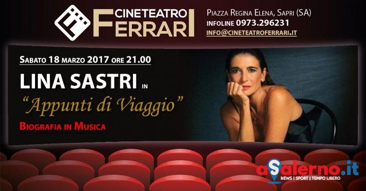 Lina Sastri in scena a Sapri - aSalerno.it