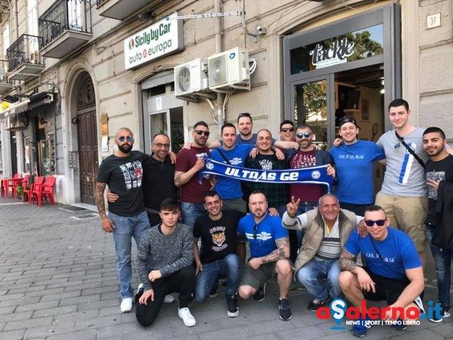 Ultras dello Schalke già a Salerno – FOTO - aSalerno.it