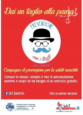 """""""Prevenzione con i baffi"""", la campagna per la salute maschile - aSalerno.it"""