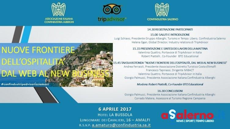 Confindustria in convegno ad Amalfi: il turismo e le nuove frontiere dell'ospitalità - aSalerno.it