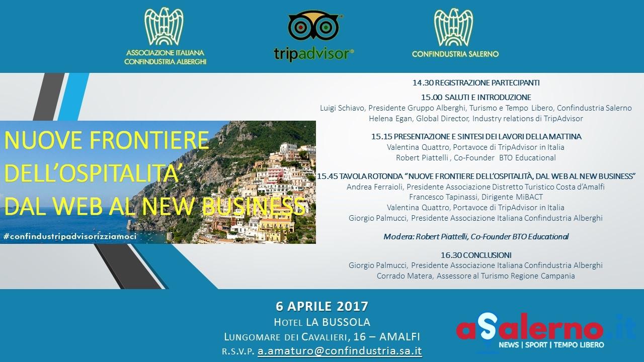 Confindustria in convegno ad amalfi il turismo e le nuove for Confindustria alberghi