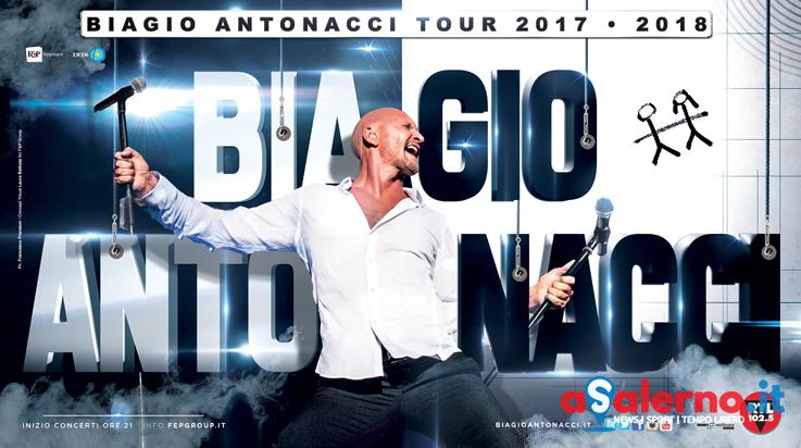 Musica, Biagio Antonacci annuncia nuovo tour a Eboli - aSalerno.it