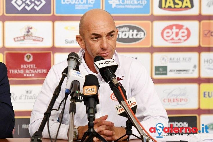 """Bollini prima della gara: """"Vogliamo congedarci dai nostri tifosi disputando un'ottima prestazione"""" - aSalerno.it"""