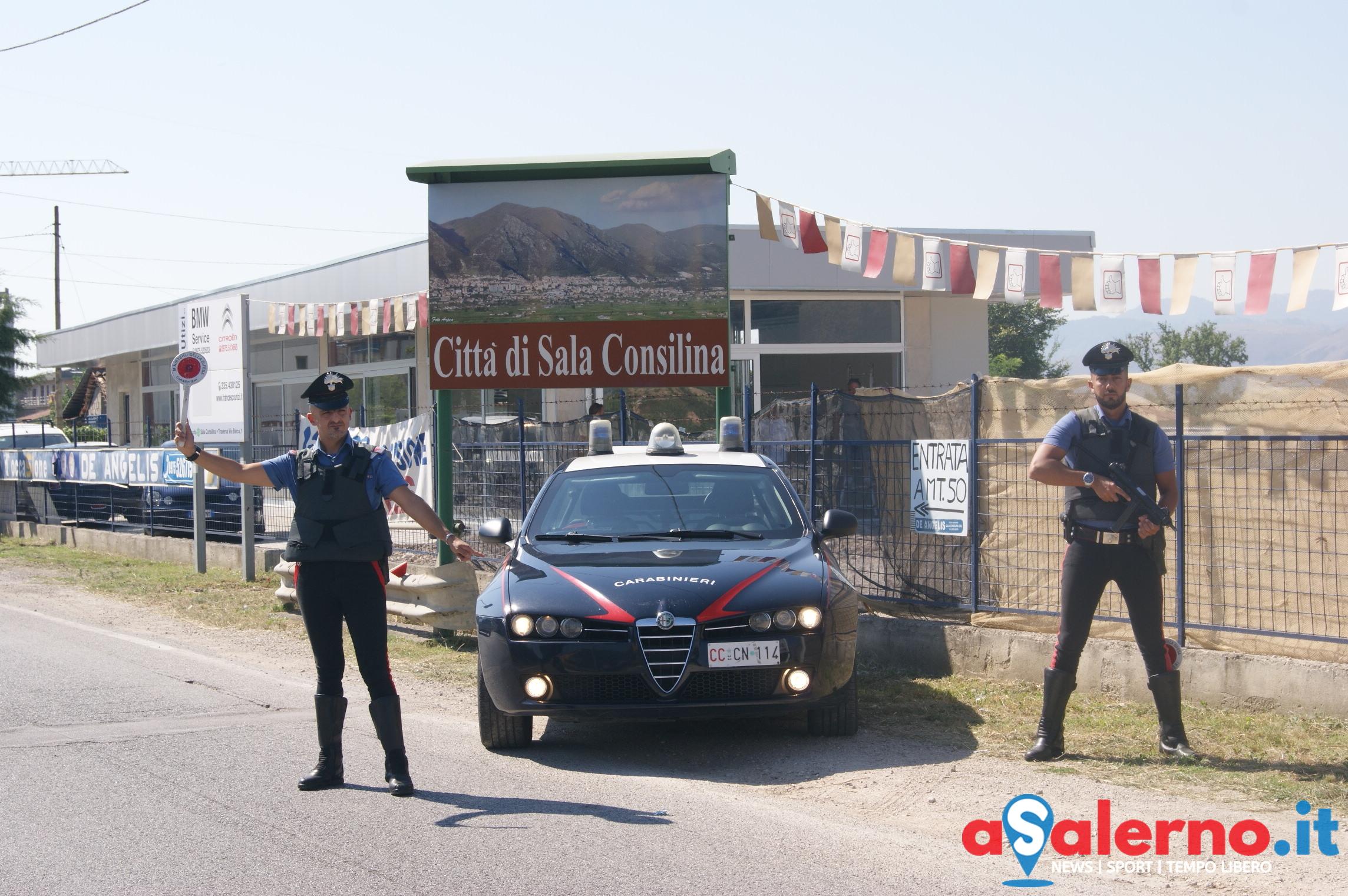 Contromano ed a folle velocità, ubriaco al volante fermato dai Carabinieri