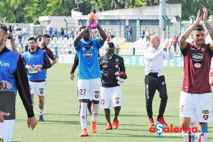 Insulti razzisti contro Gomis durante la partita contro la Pro Vercelli - aSalerno.it