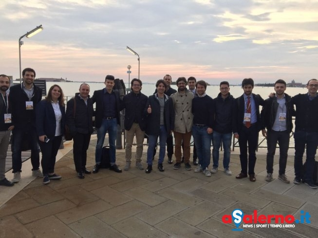 Il consigliere Dante Santoro a Venezia all'evento di Anci Giovani Amministratori - aSalerno.it
