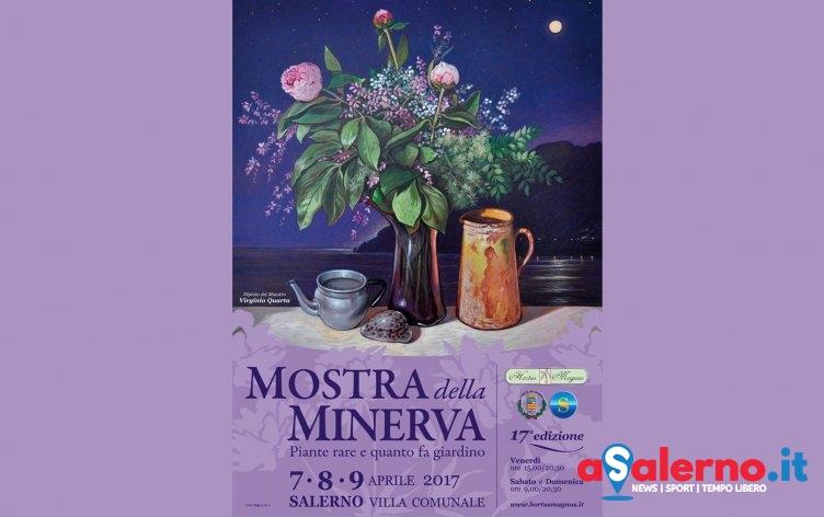 """A Salerno """"scoppia"""" la primavera: torna la Mostra della Minerva nella Villa Comunale - aSalerno.it"""