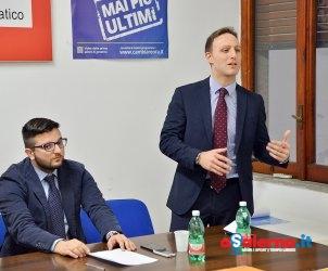 Sede PD Convegno Giovani, Economia e Politica
