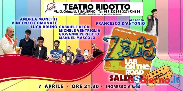 Torna Zelig Lab al Teatro Ridotto: venerdì la carrellata di comici con un nuovo spettacolo - aSalerno.it