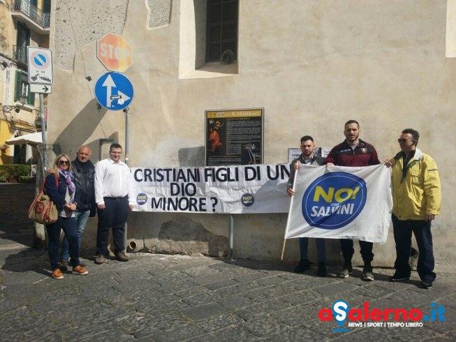 """I salernitani di Noi con Salvini al Papa: """"Garantire di più i cristiani e meno gli islamici"""" - aSalerno.it"""